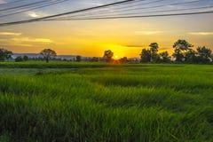 Lever de soleil léger Photographie stock