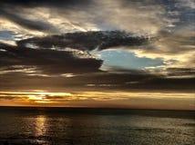 Lever de soleil de Los Cabos Mexique Images libres de droits