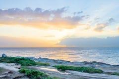 Lever de soleil de Maroubra photo libre de droits