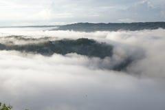 Lever de soleil de nuage Photos libres de droits