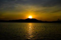 Lever de soleil parfait photographie stock