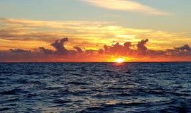 Lever de soleil parfait de début de la matinée photo libre de droits