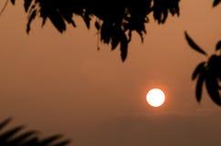 Lever de soleil pendant le matin Image stock