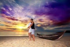 Lever de soleil romantique Photo libre de droits