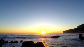 """Lever de soleil sur """"la plage des rotations de Las dans Denia clips vidéos"""