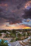 Lever de soleil sur Crète Photo libre de droits