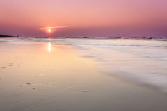 Lever de soleil sur Hilton Head Island images libres de droits
