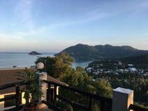 Lever de soleil sur Koh Tao Images libres de droits