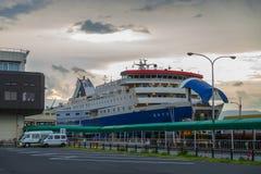 Lever de soleil sur la mer du Japon Photographie stock