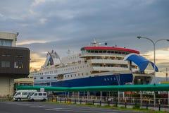 Lever de soleil sur la mer du Japon Image libre de droits