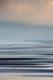 Lever de soleil sur la plage de Matapalo en Costa Rica Images stock