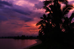 Lever de soleil sur Oahu Photos libres de droits