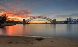Lever de soleil Sydney Australia photos stock