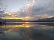 Lever de soleil tôt chez Otay images stock