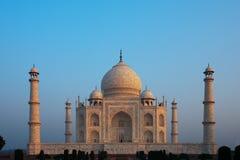 Lever de soleil Taj vide Mahal Photographie stock