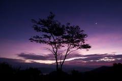 Lever de soleil @ Tak/Thaïlande Photographie stock