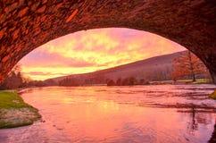 Lever de soleil de Tipperary Photos stock