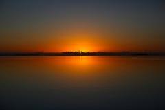 Lever de soleil toujours de matin Images libres de droits