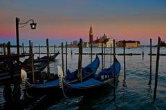 lever de soleil Venise Photos stock