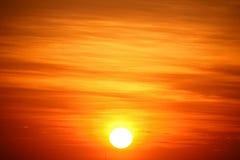 Lever de soleil vide photographie stock libre de droits