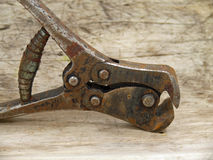 Lever in front cutting pliers Stock Image