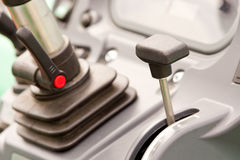 Lever in vehicle Royalty Free Stock Photos