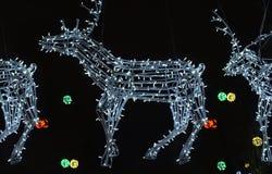 Leverans av julgåvor Royaltyfria Foton