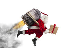 Leverans av julgåvor Arkivfoto