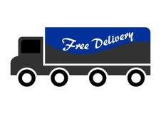 leveransen frigör lastbilen Royaltyfri Illustrationer