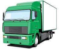 leveranslastbil Fotografering för Bildbyråer