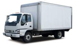 leveranslastbil arkivbild