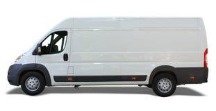 leveransskåpbil Arkivfoto