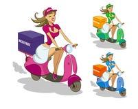 Leveranssparkcykel Arkivfoton