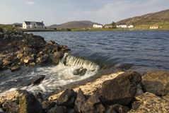 Leverburgh village, Isle of Harris, Outer Hebrides, Scotland Royalty Free Stock Photos