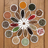 LeverDetox Superfood Arkivbild