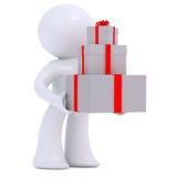 leverera gåvor Arkivfoto