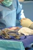 levererar kirurgiskt Arkivbild
