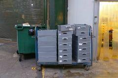 Leveringskar Stock Foto's