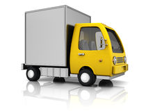Leveringsvrachtwagen vector illustratie