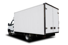Leveringsvrachtwagen royalty-vrije stock afbeelding
