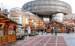 Leverkusen julmarknad Arkivbilder