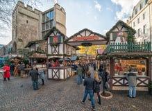 Leverkusen, marché de Noël Images libres de droits