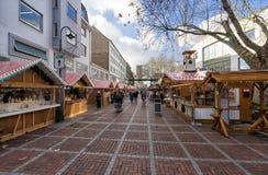 Leverkusen - mercado de la Navidad Imagenes de archivo