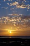 Levers de soleil et coucher du soleil Photo libre de droits
