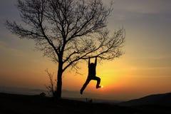 levers de soleil parfaits pour le voyageur énergique photographie stock libre de droits