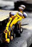 Levers for Equipment Royalty Free Stock Photos