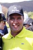 LEVET托马斯赞成高尔夫球运动员 免版税图库摄影