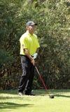 LEVET托马斯赞成高尔夫球运动员 免版税库存照片
