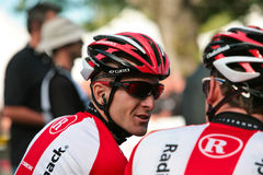 Levi Leipheimer of Radioshack Team Royalty Free Stock Photos