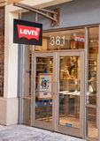 Levi's outlet. Royalty Free Stock Photo